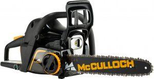 Kettingzaag onderhoud uitvoeren - McCulloch CS 42STE benzine kettingzaag